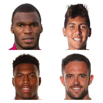 LFC strikers 2015