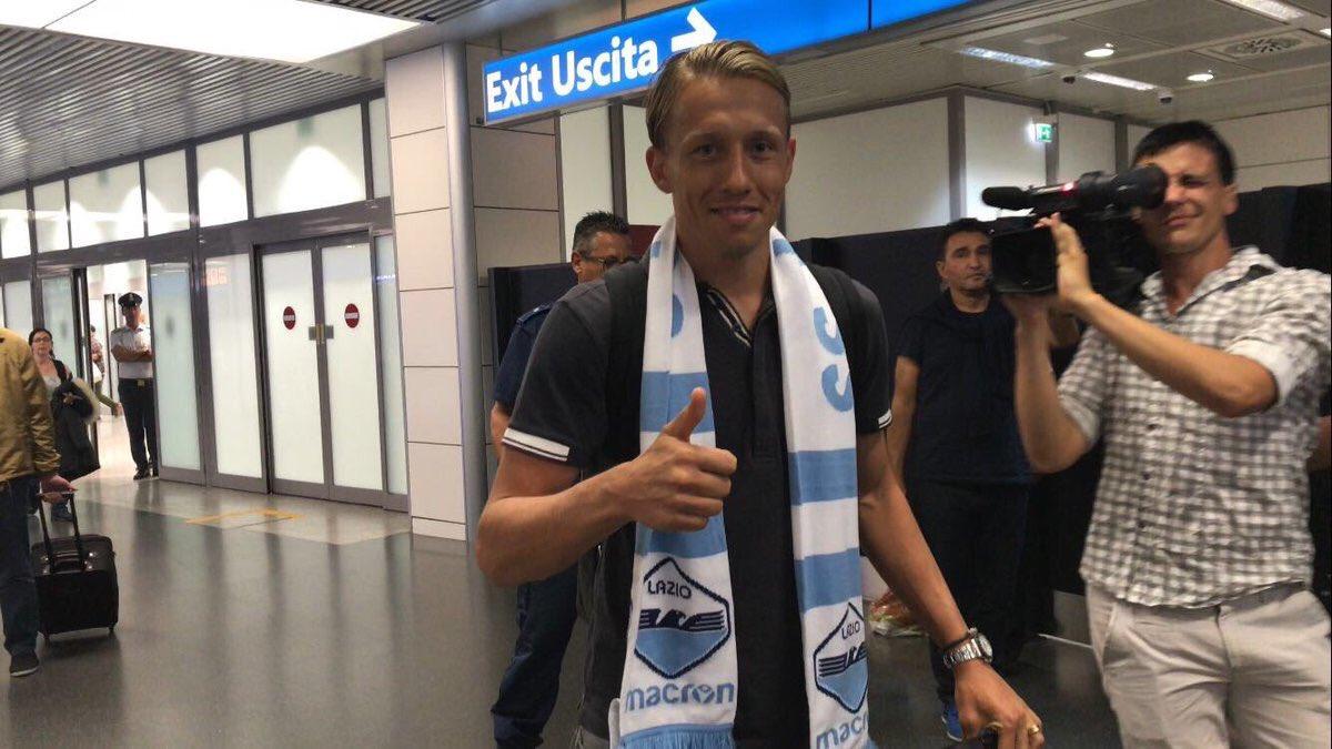 Lucas Leiva Lazio Scarf
