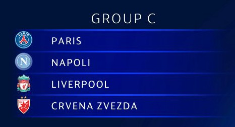 Group C UCL 18-19