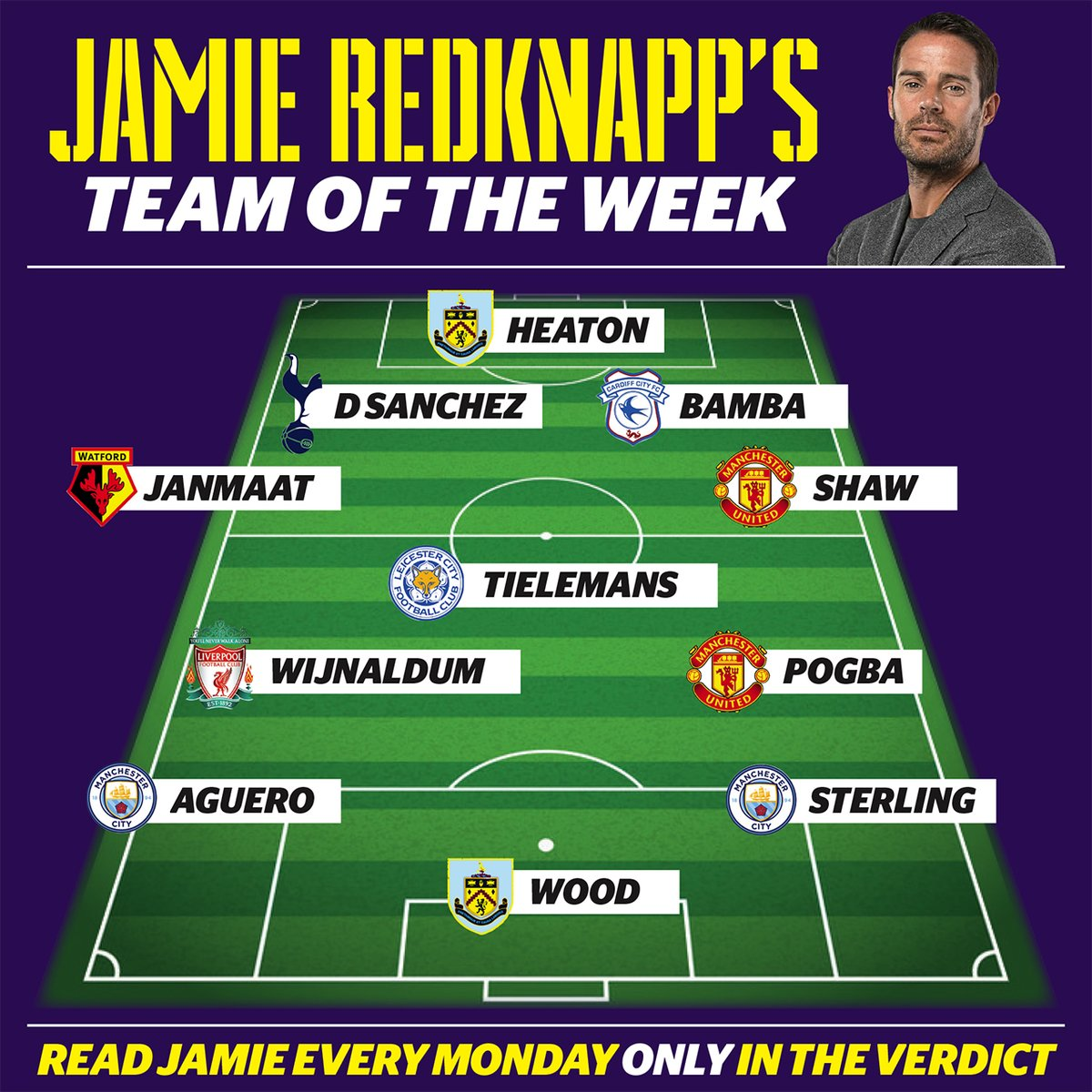 Wijnaldum in Team of the Week