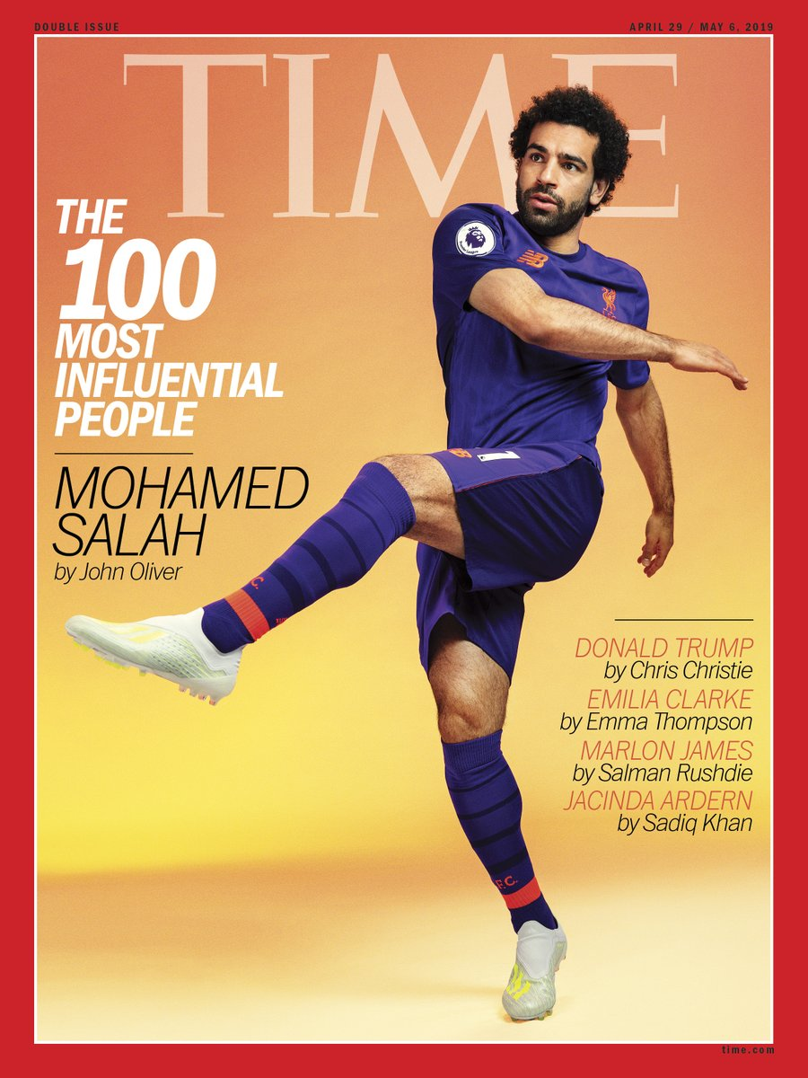 Mo Salah Time Magazine