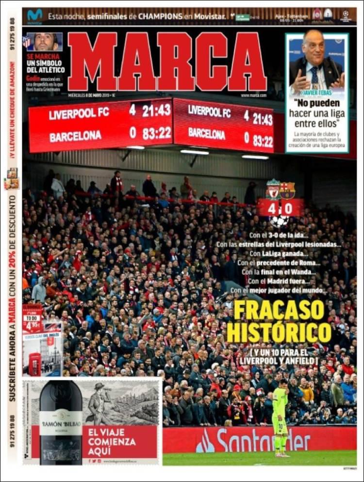 Marca Liverpool Barcelona