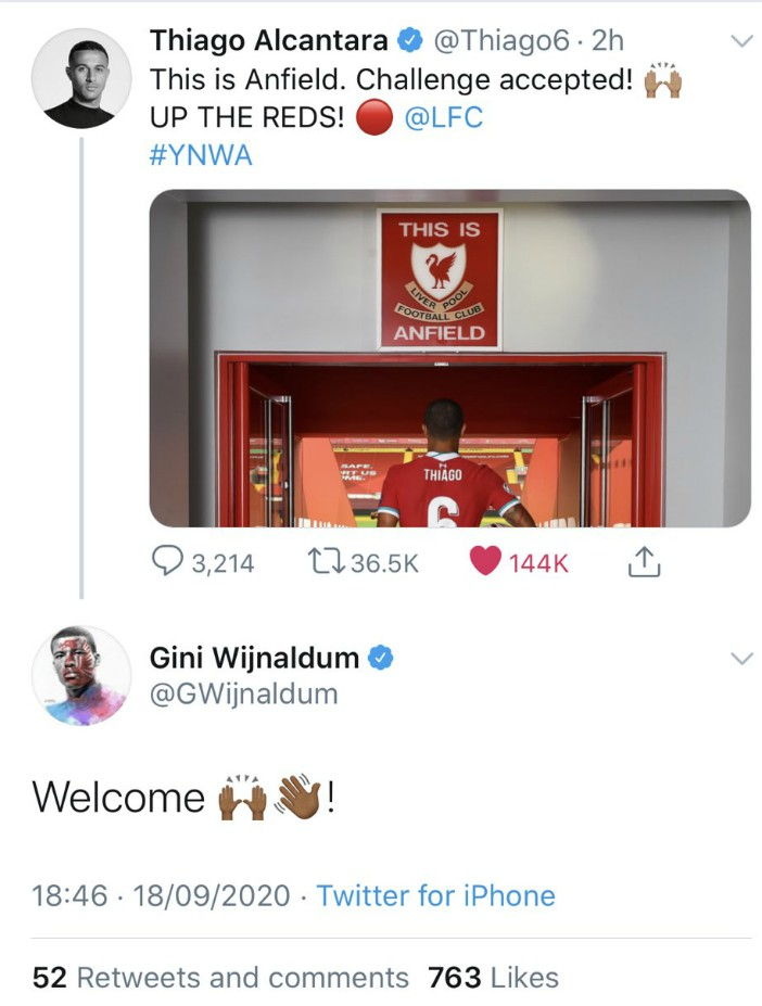Thiago Gini Twitter