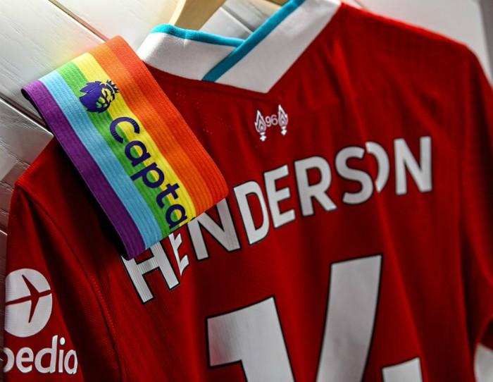 Jordan Henderson Rainbow Laces 2020 Captain Armband